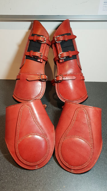 cuir rouge protection